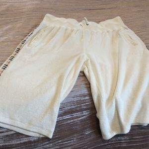 Burberry terry shorts